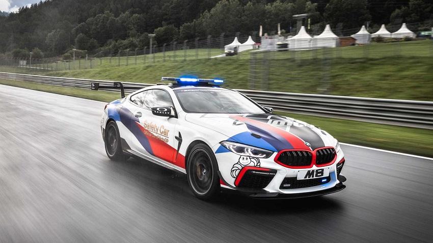 BMW M8 Competition MotoGP Safety Car công suất 617 mã lực - 4