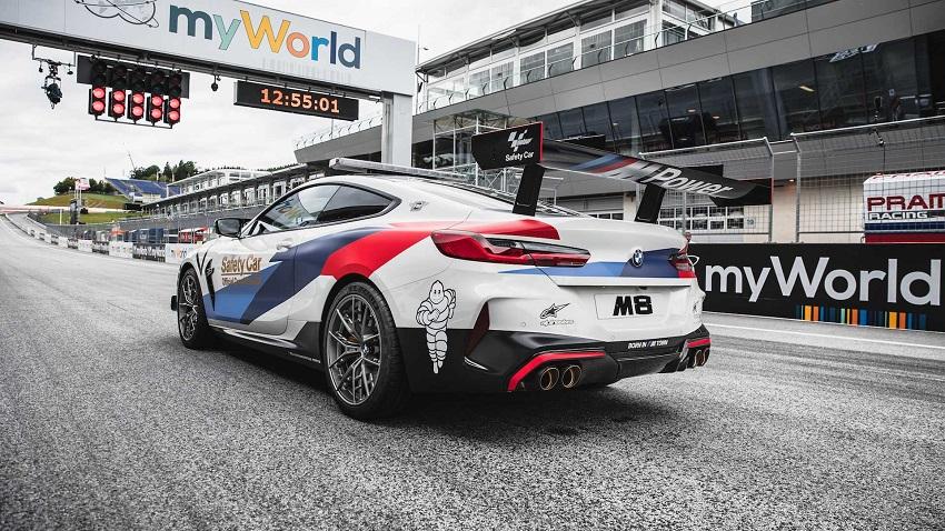 BMW M8 Competition MotoGP Safety Car công suất 617 mã lực - 5