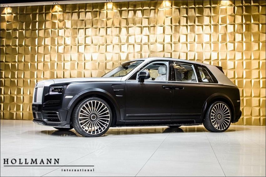 Rolls-Royce Cullinan Billionaire của hãng độ Mansory sẽ có giá 727.000 USD - 1