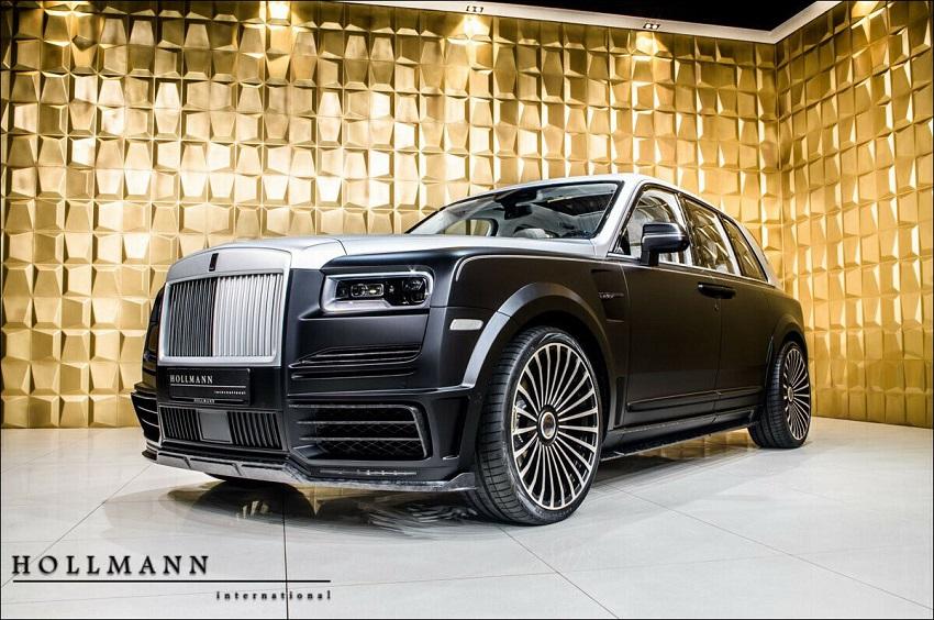 Rolls-Royce Cullinan Billionaire của hãng độ Mansory sẽ có giá 727.000 USD - 2