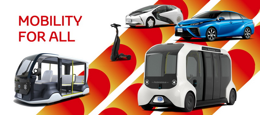 Toyota cung cấp loạt mẫu xe điện cho Thế vận hội Olympic và Paralympic Tokyo 2020 - 16