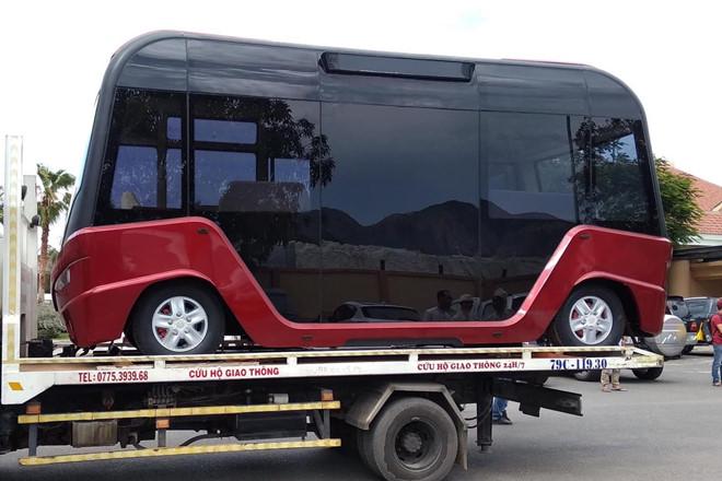 Lộ diện xe bus gắn logo Vinfast với thiết kế hiện đại như phim viễn tưởng - 5