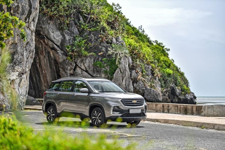 Chevrolet Captiva 2019 ra mắt tại Thái Lan, giá từ 767 triệu đồng - 41