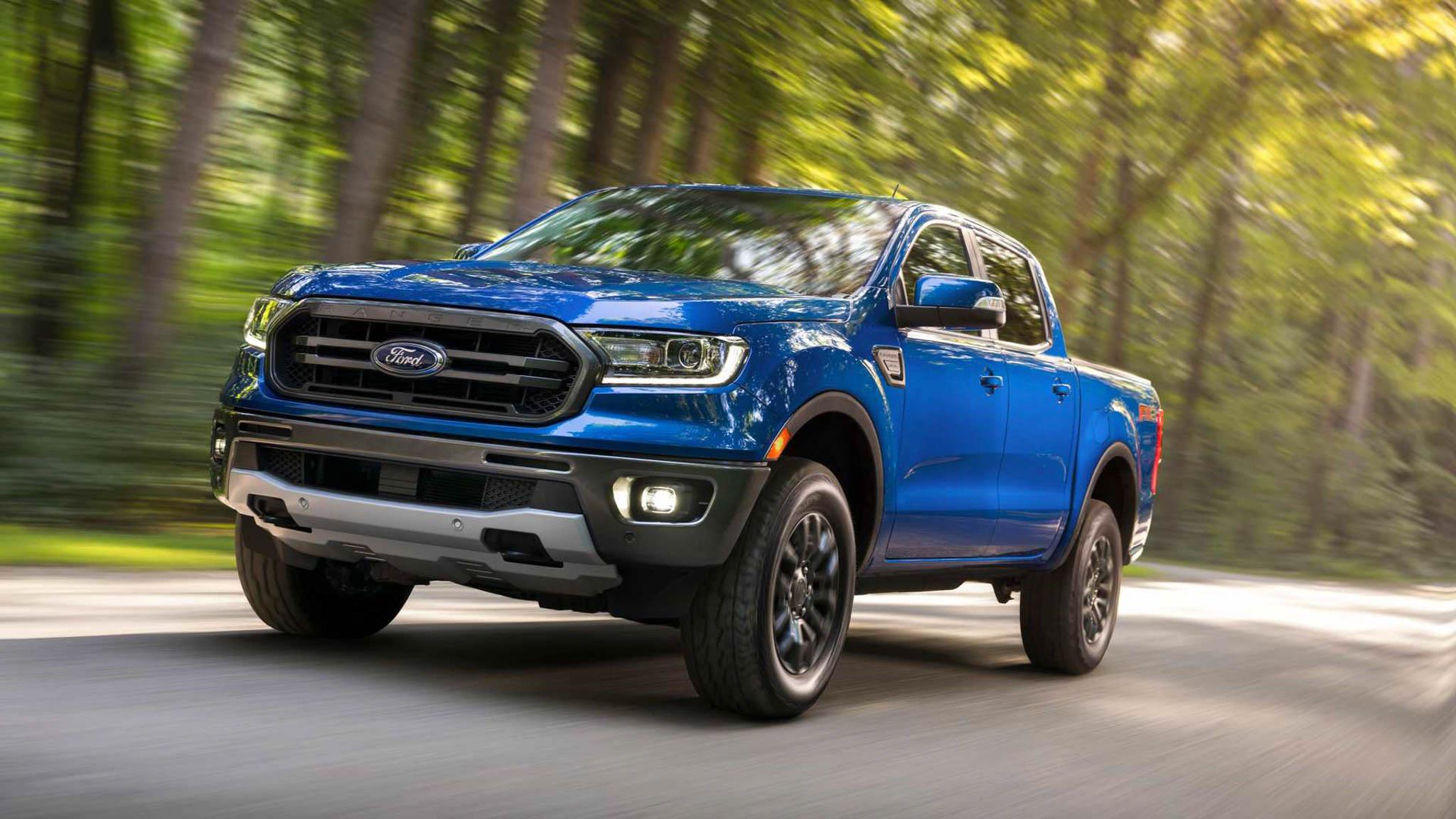 Ford Ranger thế hệ mới sẽ trang bị động cơ xăng và dầu V6 - 1