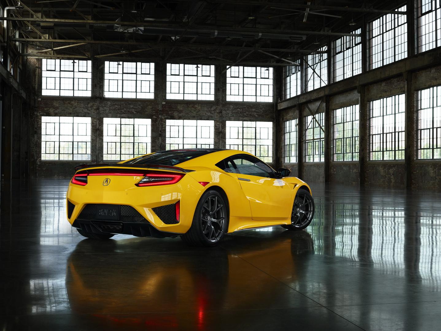 Acura NSX 2020 ra mắt màu vàng Yellow Pearl - 4