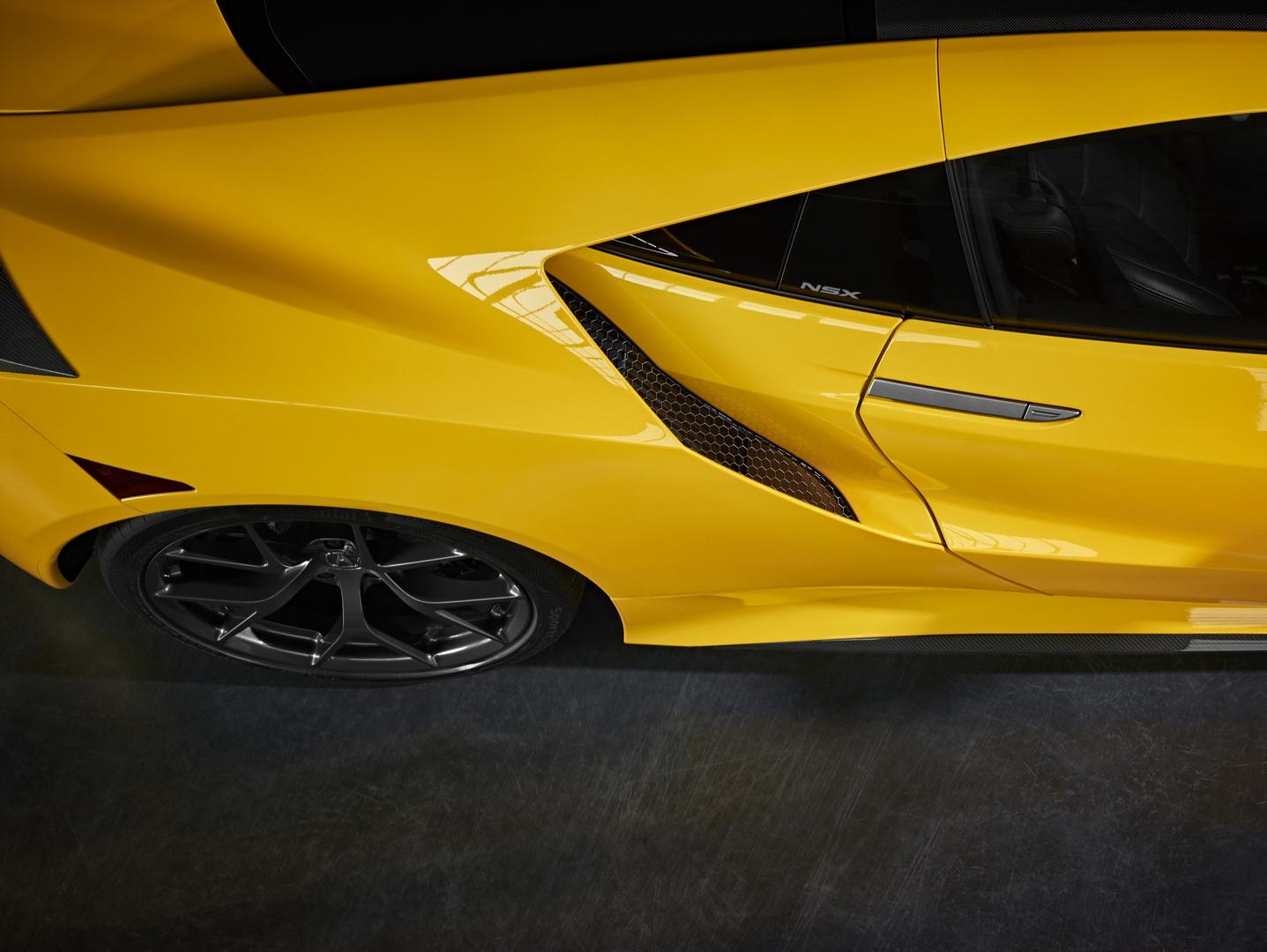 Acura NSX 2020 ra mắt màu vàng Yellow Pearl - 6