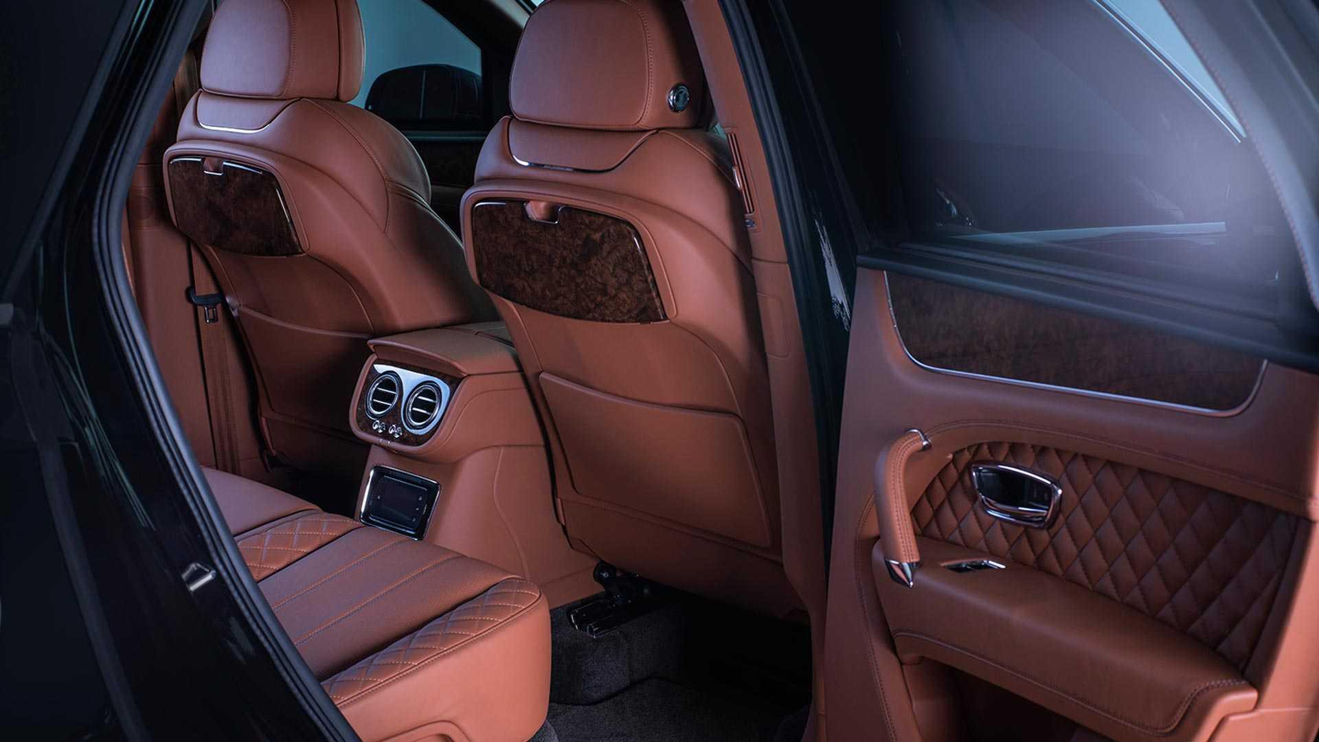 SUV siêu sang Bentley Bentayga phiên bản bọc thép - 11