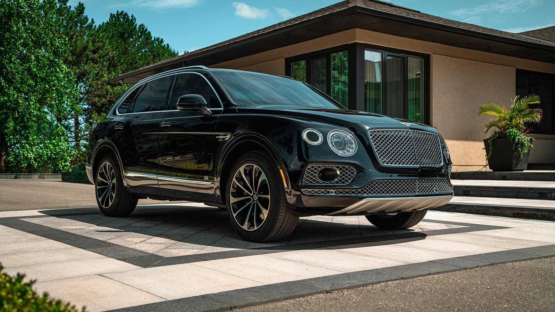 SUV siêu sang Bentley Bentayga phiên bản bọc thép - 12