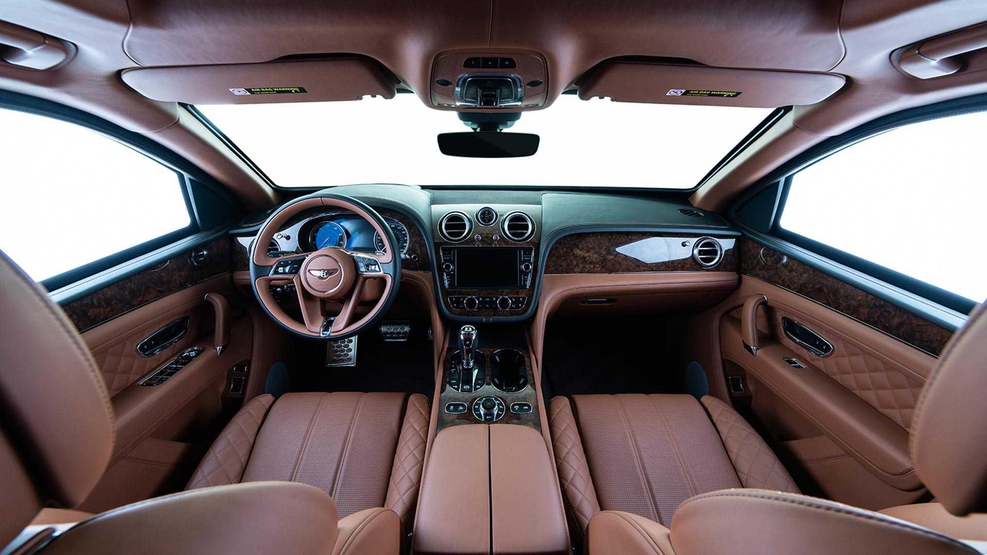 SUV siêu sang Bentley Bentayga phiên bản bọc thép - 06