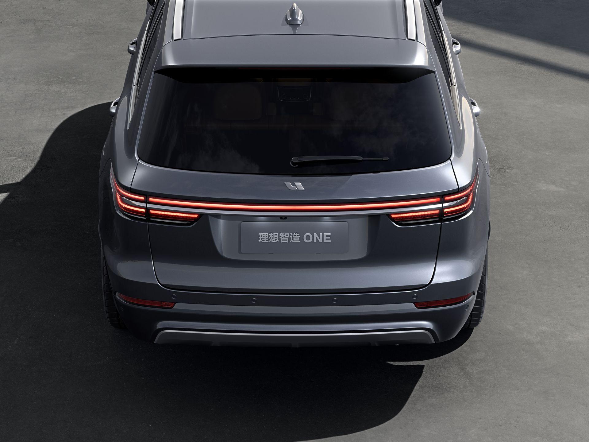 Li Xiang One - SUV Hybrid với công nghệ tự lái Trung Quốc - 05