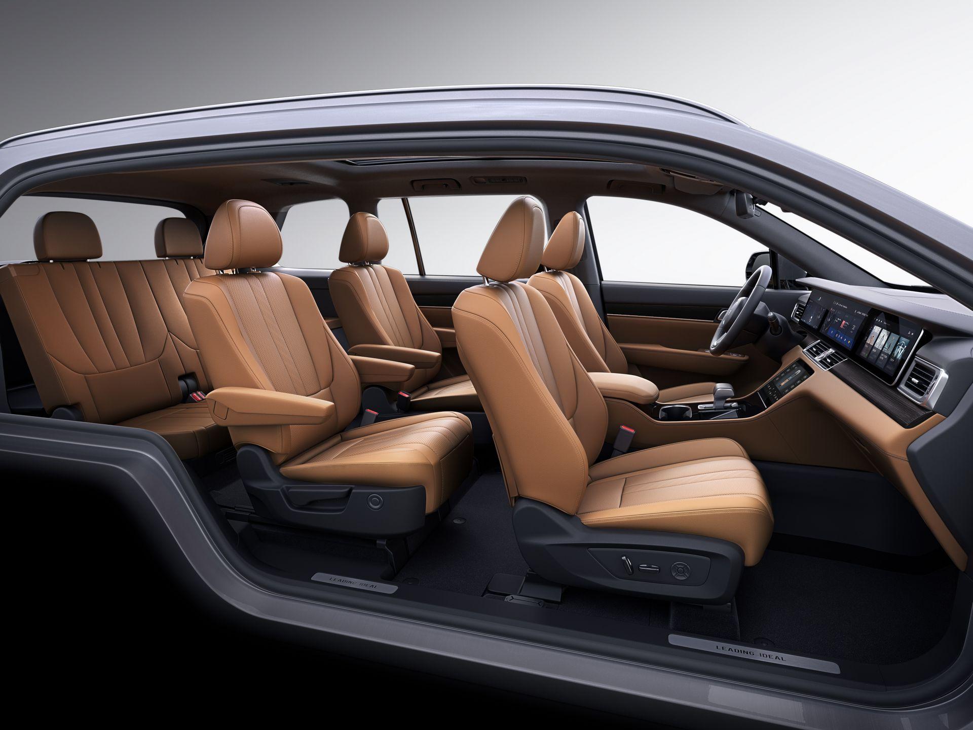 Li Xiang One - SUV Hybrid với công nghệ tự lái Trung Quốc - 08