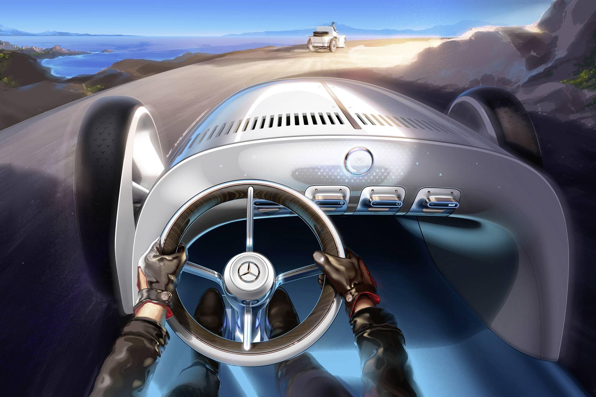 Mercedes-Benz trình làng concept xe tương lai mới có thiết kế hoài cổ-7