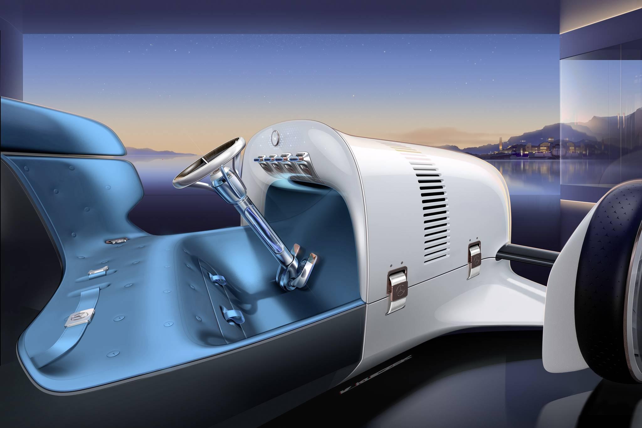 Mercedes-Benz trình làng concept xe tương lai mới có thiết kế hoài cổ-6