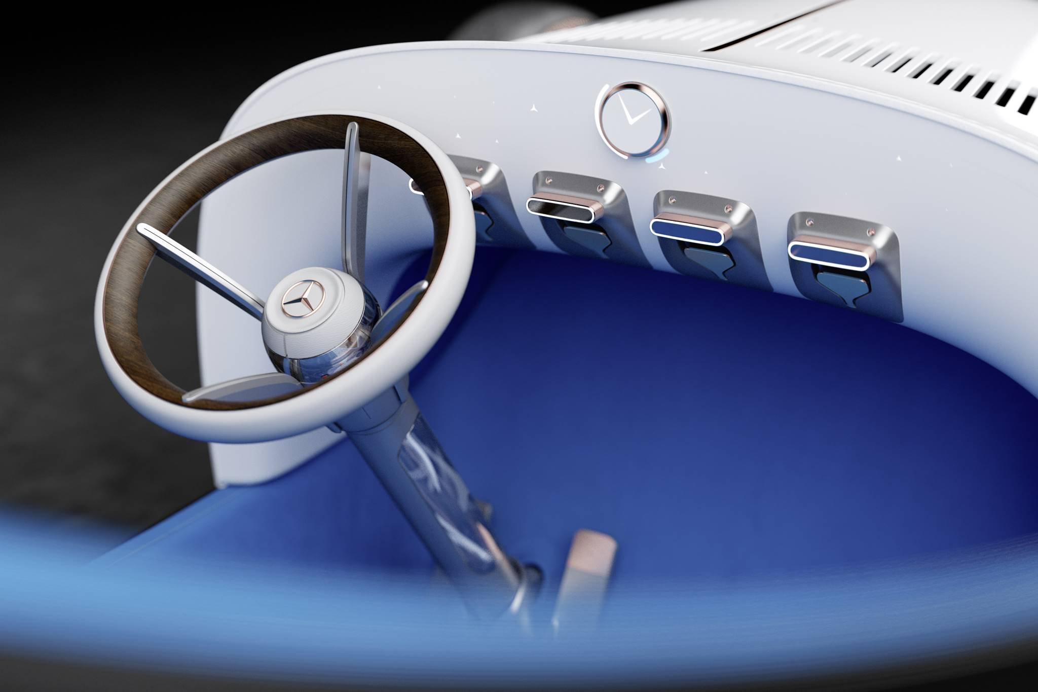 Mercedes-Benz trình làng concept xe tương lai mới có thiết kế hoài cổ-5
