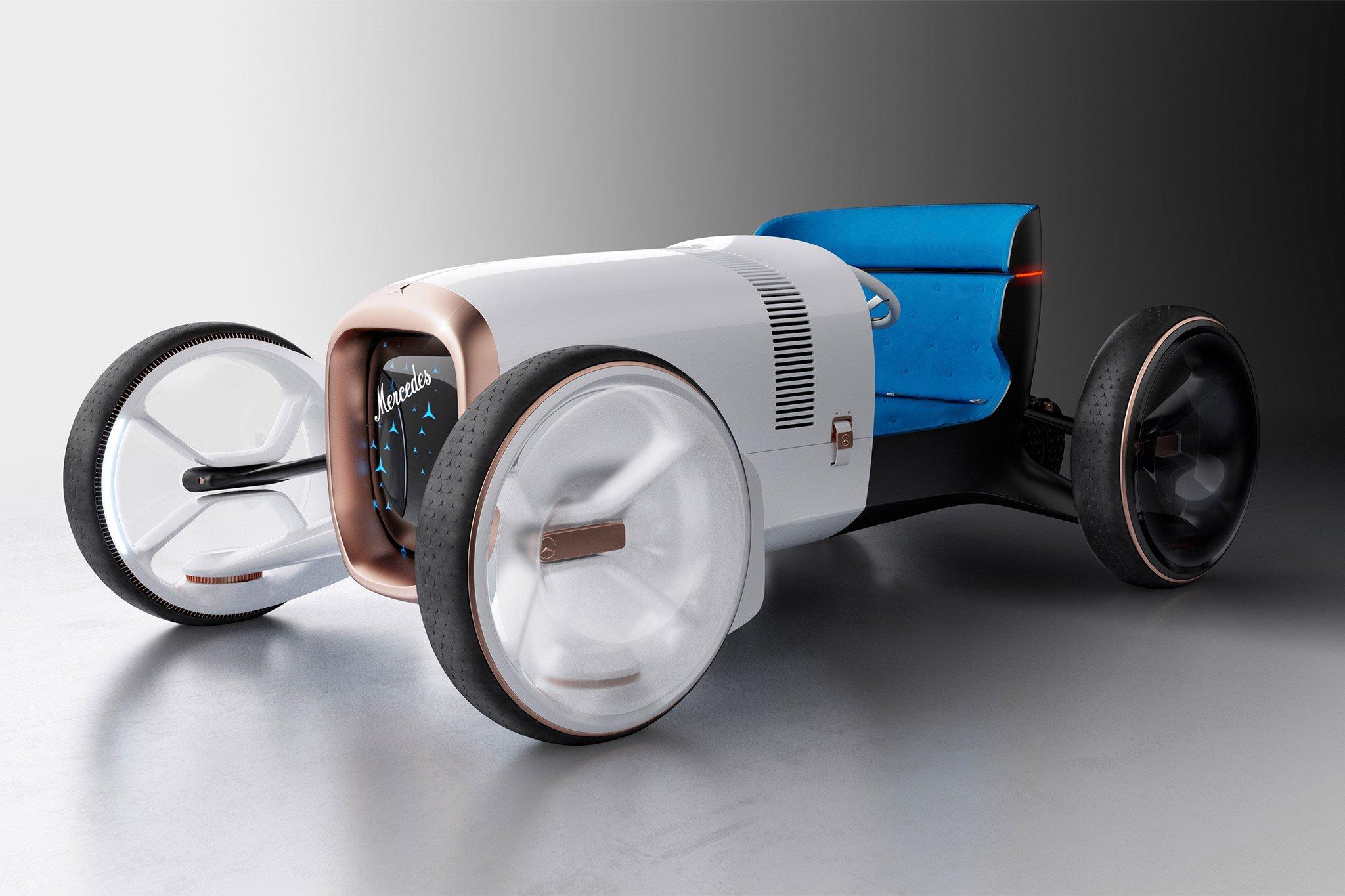 Mercedes-Benz trình làng concept xe tương lai mới có thiết kế hoài cổ-2