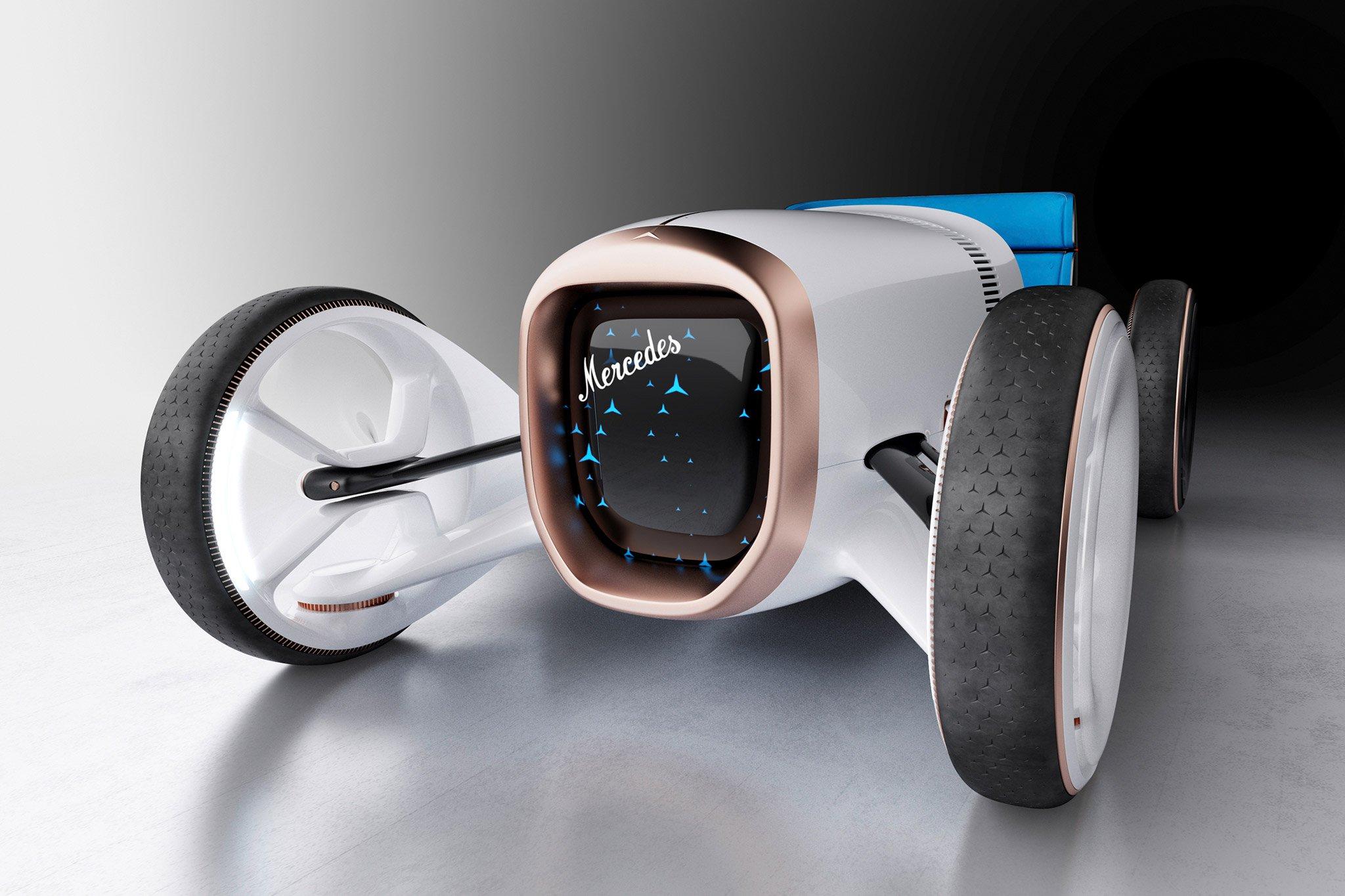 Mercedes-Benz trình làng concept xe tương lai mới có thiết kế hoài cổ-9