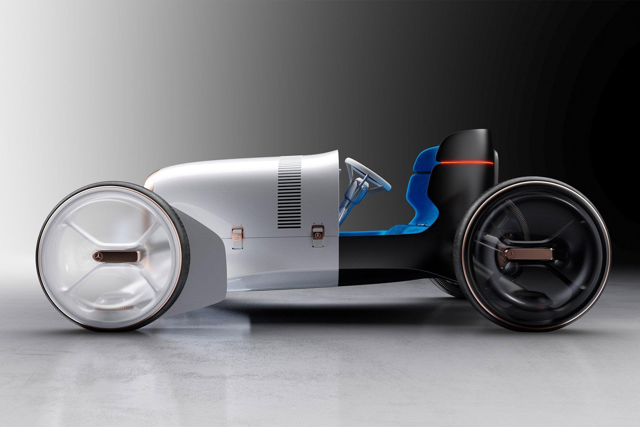 Mercedes-Benz trình làng concept xe tương lai mới có thiết kế hoài cổ-1