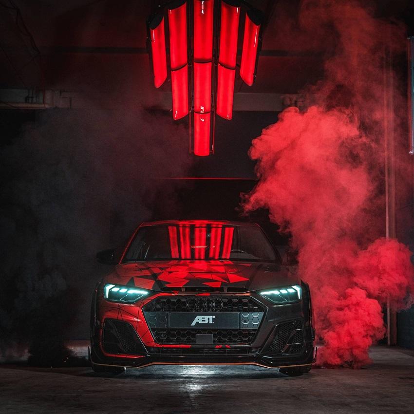 Ra mắt Audi A1 Sportback với bản nâng cấp ABT Sportsline - 3