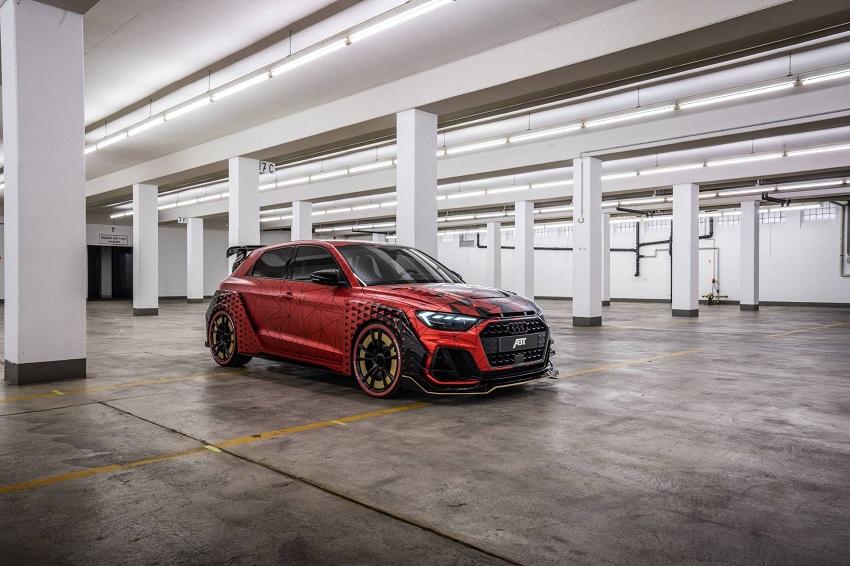 Ra mắt Audi A1 Sportback với bản nâng cấp ABT Sportsline - 8
