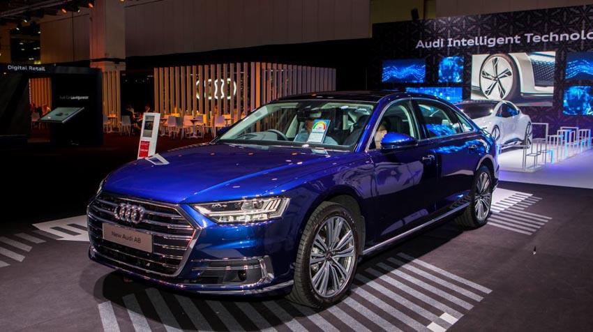 Loạt xe Audi chính hãng chuẩn bị cho Vietnam Motor Show 2019 đã về Việt Nam - 2