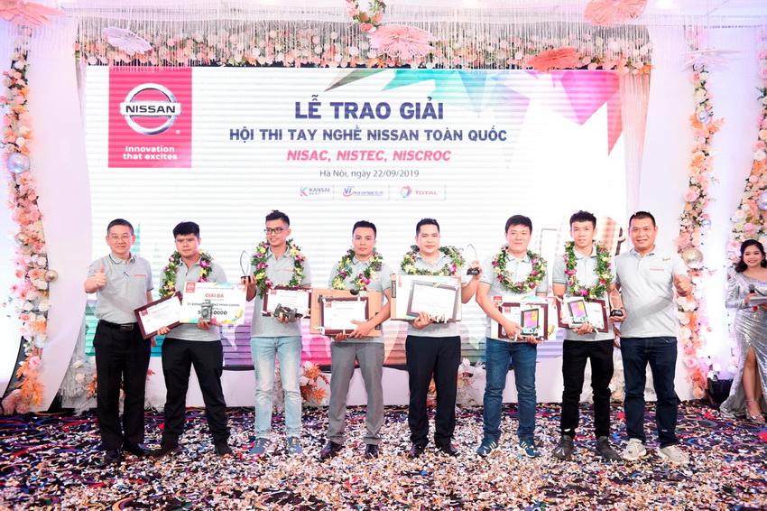 Hội thi tay nghề Nissan năm 2019