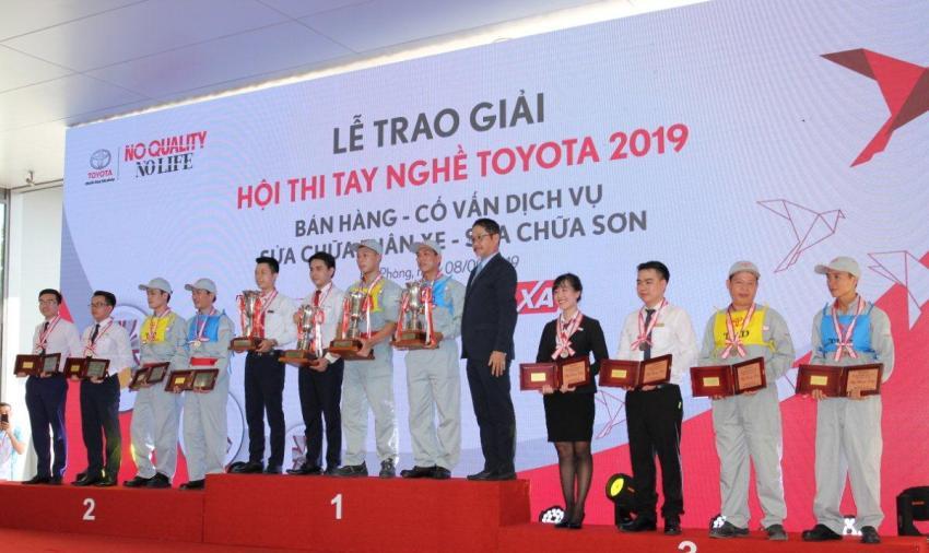 Hội thi tay nghề Toyota 2019