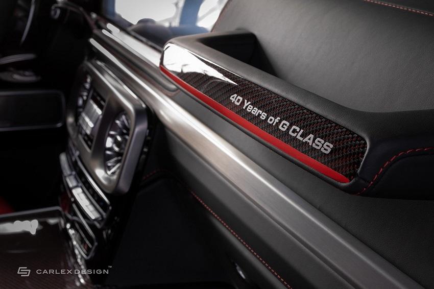 Mercedes-Benz G-Class hóa xe couple thể thao qua tay nhà độ xe Carlex - 11