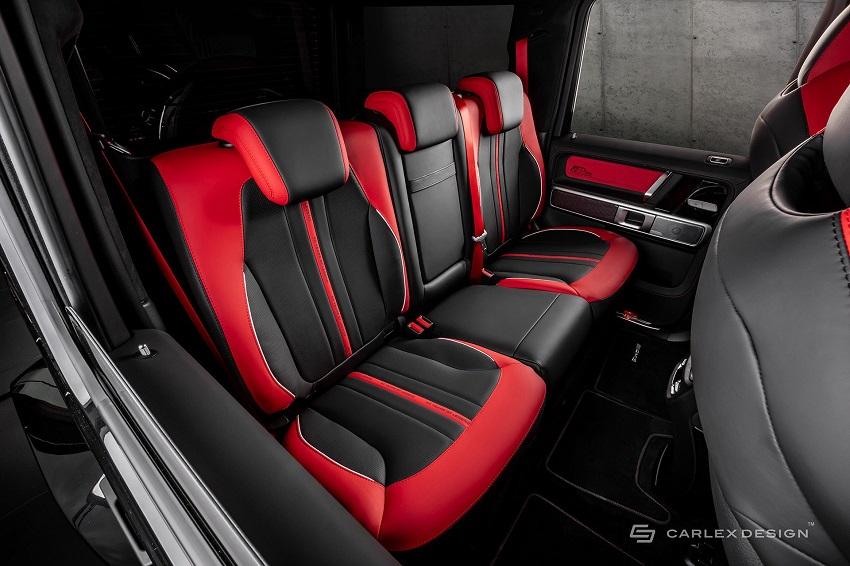 Mercedes-Benz G-Class hóa xe couple thể thao qua tay nhà độ xe Carlex - 12