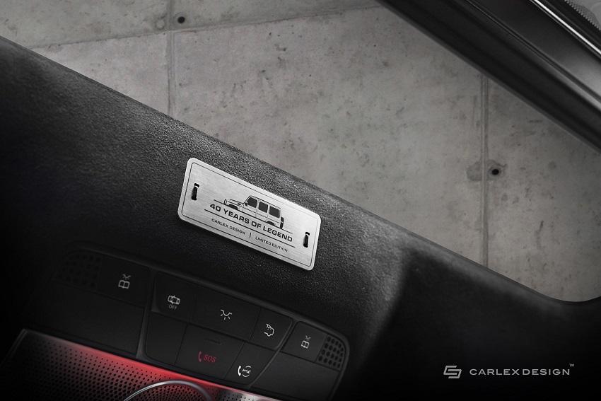 Mercedes-Benz G-Class hóa xe couple thể thao qua tay nhà độ xe Carlex - 13