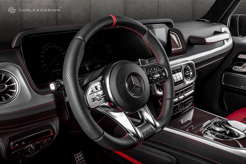 Mercedes-Benz G-Class hóa xe couple thể thao qua tay nhà độ xe Carlex - 5