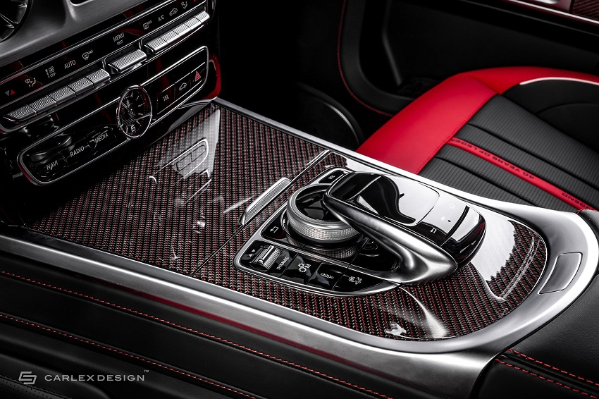 Mercedes-Benz G-Class hóa xe couple thể thao qua tay nhà độ xe Carlex - 8