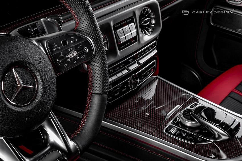 Mercedes-Benz G-Class hóa xe couple thể thao qua tay nhà độ xe Carlex - 9