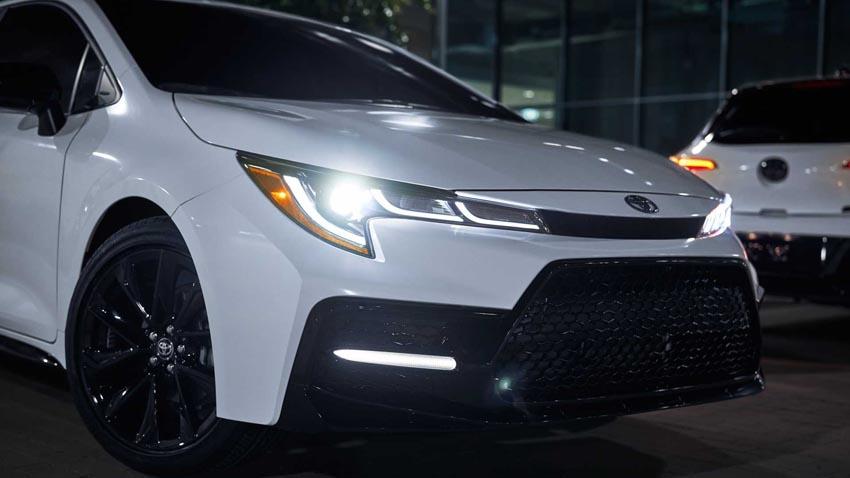 """Toyota Corolla 2020 Nightshade Edition phong cách """"trẻ trâu"""" ra mắt ở Mỹ - 8"""