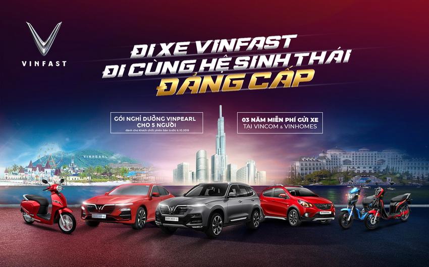 Chương trình ưu đãi cho khách hàng mua xe Vinfast