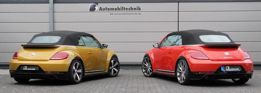 VW Beetle Convertible qua tay hãng độ B & B-Tuned có công suất 380 mã lực và đạt 100 km/h trong 5,2 giây - 2