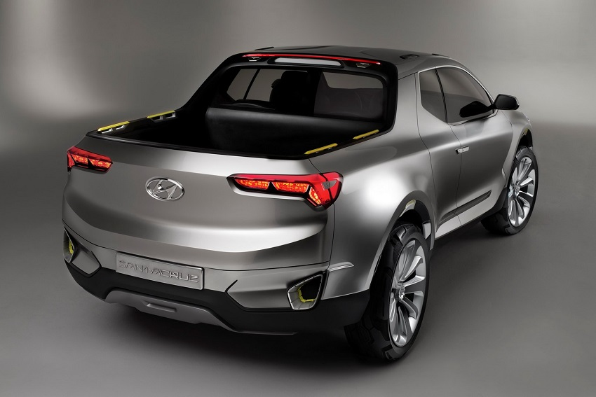 Xe bán tải Hyundai sắp ra mắt với khung gầm dạng thang - 2