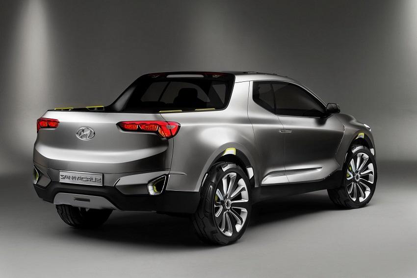 Xe bán tải Hyundai sắp ra mắt với khung gầm dạng thang - 3