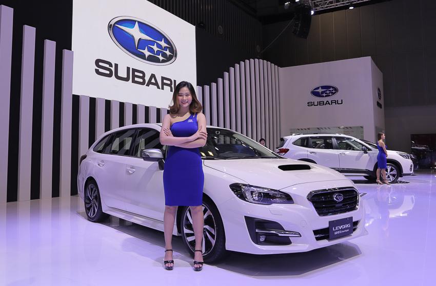 [VMS 2019] Subaru giới thiệu xe thể thao Subaru BRZ Sport coupé 2.0 và Levorg 2.0 GTS MY2020 - 2