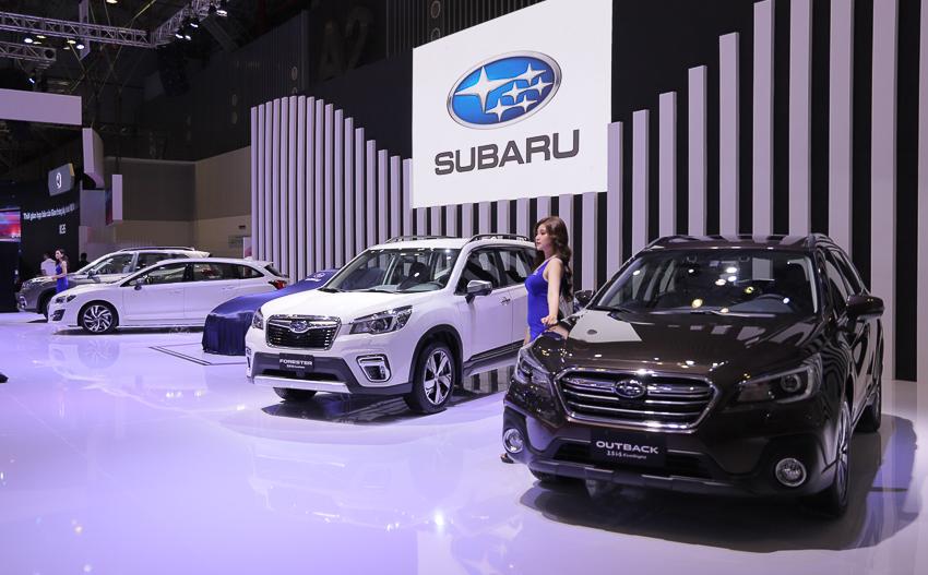 [VMS 2019] Subaru giới thiệu xe thể thao Subaru BRZ Sport coupé 2.0 và Levorg 2.0 GTS MY2020 - 15