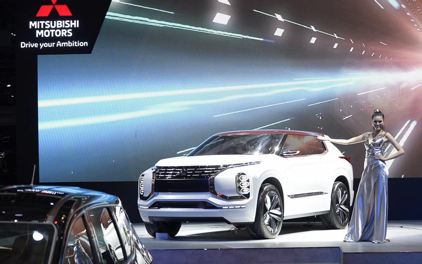 [VMS 2019] Mitsubishi GT-PHEV Concept - công nghệ SUV Hybrid - 14