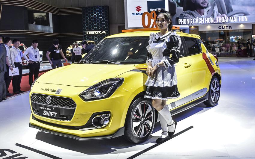 [VMS 2019] Suzuki Việt Nam giới thiệu dàn xe đầy màu sắc, tiết kiệm xăng - 14