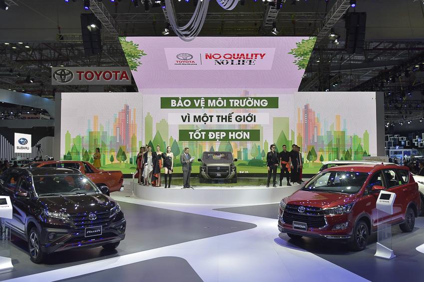 [VMS 2019] Toyota giới thiệu mẫu xe ý tưởng TJ Cruiser - 3