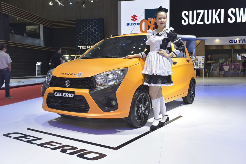[VMS 2019] Suzuki Việt Nam giới thiệu dàn xe đầy màu sắc, tiết kiệm xăng - 4