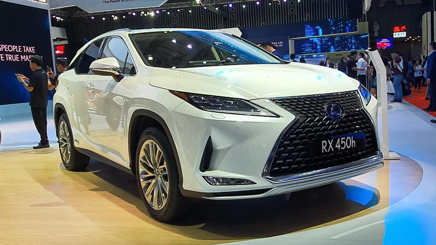 [VMS 2019] Lexus giới thiệu RX và GX mới phiên bản 2020 tại Việt Nam - 7