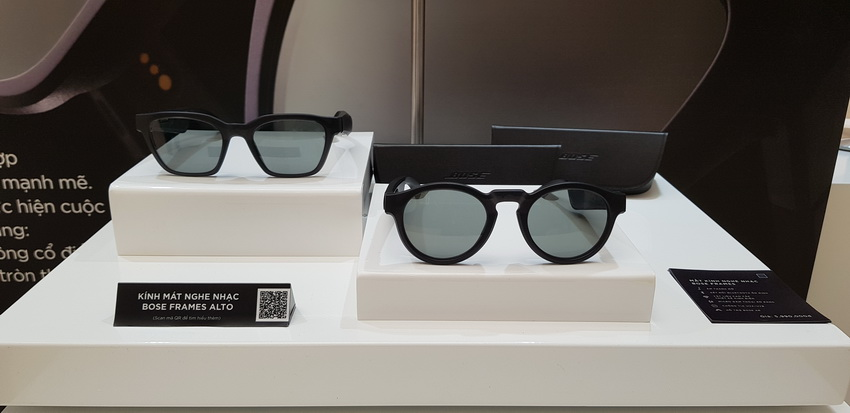 kính mát nghe nhạc Bose Frames