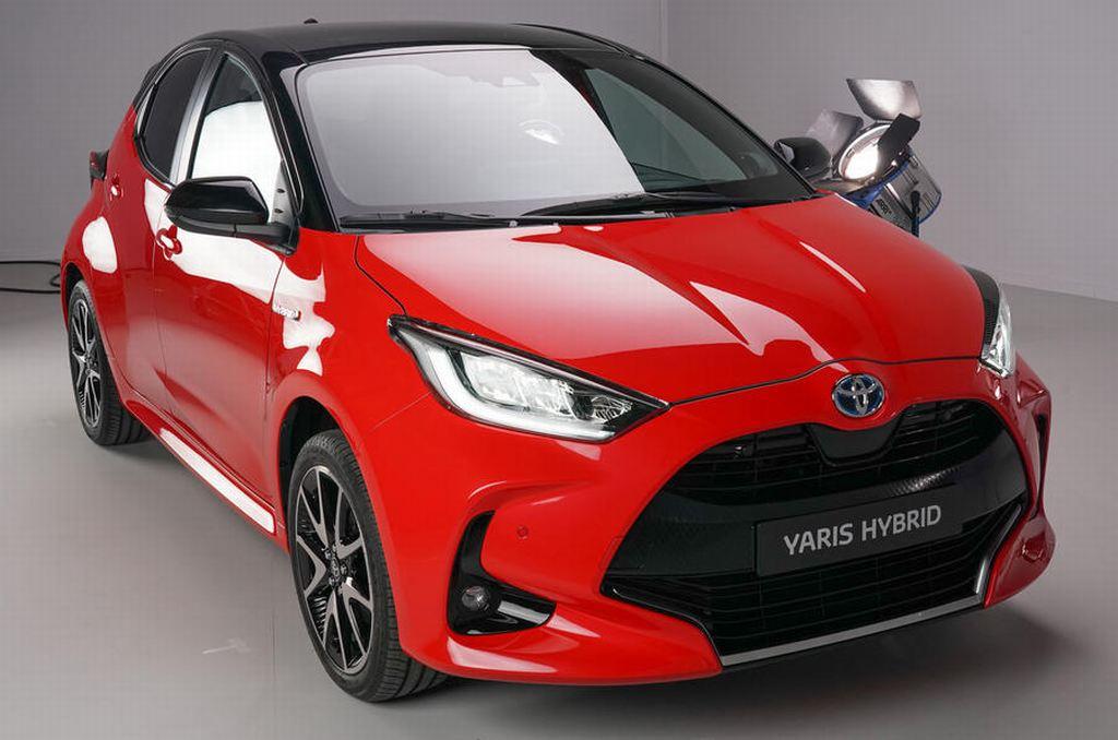 Toyota Yaris 2020 lộ diện thiết kế hoàn toàn mới - 1