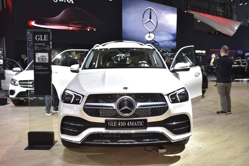 Cận cảnh Mercedes GLE 450 4MATIC mới giá 4,369 tỉ đồng ra mắt tại VMS 2019 - 18
