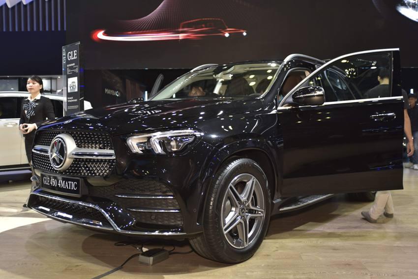 Cận cảnh Mercedes GLE 450 4MATIC mới giá 4,369 tỉ đồng ra mắt tại VMS 2019 - 22