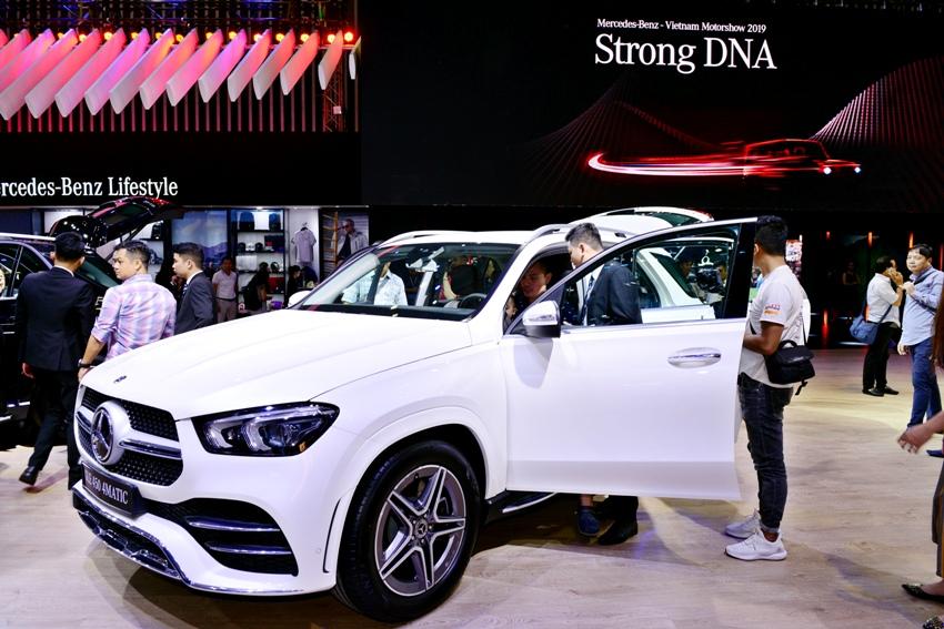 Cận cảnh Mercedes GLE 450 4MATIC mới giá 4,369 tỉ đồng ra mắt tại VMS 2019 - 3