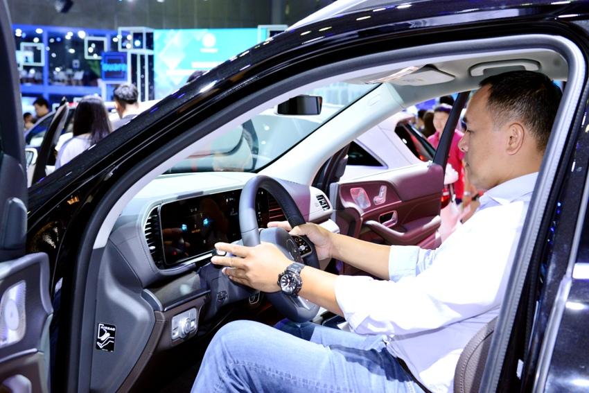 Cận cảnh Mercedes GLE 450 4MATIC mới giá 4,369 tỉ đồng ra mắt tại VMS 2019 - 4